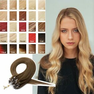 1g Premium Remy Micro Loop Lustrous flowy soft Pretty Human Hair Extensions
