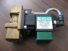New No Box Spartan Scientific 3500-11-4213 Solenoid Valve (24VDC, 150 PSI)