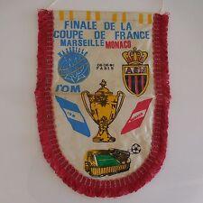 Fanion Finale de la coupe de France Marseille Monaco 1991