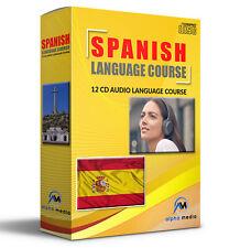 SPANISH Language Course on 12 AUDIO CD learn Spanish learn to speak