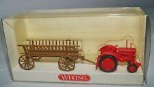 Wiking 893 01 31 Hanomag R16 mit Leiterwagen OVP