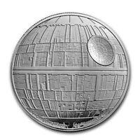 Niue - 2020 - 1 OZ Silver  Proof Coin - Star Wars  -  Death Star