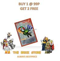 LEGO - #113 - PARROT - CREATE THE WORLD TRADING CARD - BESTPRICE + GIFT - NEW