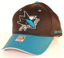 San Jose Sharks Reebok TZM13 Flex Fit Hockey Cap Hat L/XL