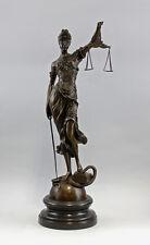 Bronze Figur der Justitia Mayer NEU 9937719