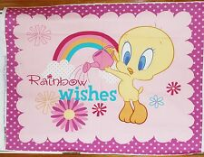 Tweety Bird Looney Tunes Rainbow Wishes Quilt Panel btp REDUCED PRICE