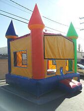 Commercial Inflatable Bounce House Moonwalk Jumper Castle Bouncer Multi-Color