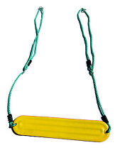 Cubby Strap Swing with Adjustable Ropes YELLOW Tree Play Equipment outdoor toys
