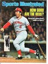 1976 11/1 Sports Illustrated,Baseball,magazine,Johnny Bench,Cincinnati Reds FAIR
