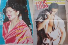 MADONNA Ciccone kisses from Cannes_vintage poster magazine_originale 1991