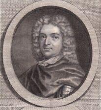 Portrait XVIIIe Paul De Rapin De Thoyras Historien Institutions Anglaises 1786