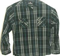 Airwalk Long Sleeve Button Up Shirt Mens Size XL