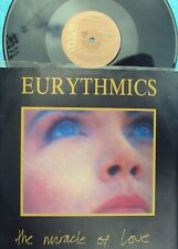 Eurythmics ORIG OZ PS 12 Miracle of love EX '86 RCA New wave 2 rare Live Trks