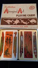 Collectable  Unusual Vintage Aboriginal Art Playing Cards