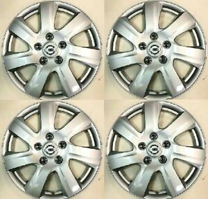 "4 x 16"" Hubcaps fit for 2005-2006 Nissan Altima Hub Cap Wheel Cover COMPLETE SET"