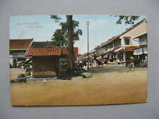 NEI NETHERLANDS INDIES, PPC (card Buitenzorg Chinese Quarter) 1912