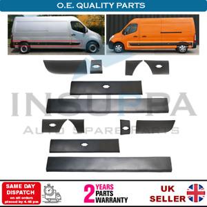 Side Moulding Strip Panel Set Left & Right For Nissan Interstar Nv400 2010-2016