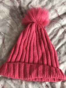 Girls Good Condition Winter Hat One Size