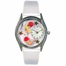 Whimsical Watches Women's S0820013 Cheerleader White Leather Watch