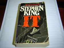 """FAIR CONDITION""  IT by STEPHEN KING 1987) PAPERBACK"