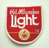 Vintage Old Milwaukee Light Beer Distributor Small U Cloth Patch NOS New