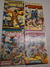 The Champions 1975 - Issues #1 - #12 - UK Price Variants