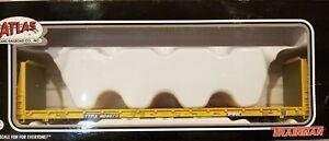 20 005 080 Atlas Trainman TTX Bulkhead Flat Car