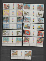 AUSTRALIA 1988 LIVING TOGETHER SET-IN TRAFFIC LIGHT PAIRS   (SG 111-113) MNH