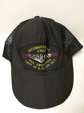 USS Swordfish Decommissioning Crew Embroidered Hat Cap made in USA by Northstar
