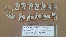 15mm  Battle Honors   Ancient Greek Generic  Hoplites