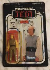 Lobot Star Wars Return of The Jedi Figure, Black, Kenner, 1983 - Unpunched, New