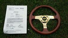 Holzlenkrad Jamex Lenkrad Holz 320 mm Wurzelholz Sportlenkrad VW Golf BMW