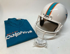 Franklin Miami Dolphins Helmet & Jersey Set Youth M Costume NWOB