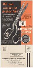 Sheffield Steel, Yorkshire: Cutlery/Dressmakers' Scissors Promotional Postcard