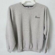 Slazenger Sandpines gray long sleeve crew neck heavyweight sweatshirt *Sz L*