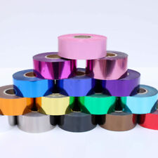 More details for hot foil for embossing/stamping/blocking, 15  colours -  25 mm wide - 120 meters
