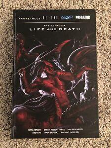 Complete Life and Death HC OHC Aliens Predator Prometheus Dark Horse Omnibus 1 4