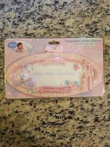 Disney Baby Keepsake Name Plaque Girl Dreams Come True Brand New Sealed