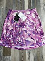 """New $75 Nike Dri-Fit Womens UV Victory 17"""" Golf Skort Sz Extra Small Skirt NWT"""