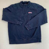 Vineyard Vines Full Zip Jacket Mens Small Blue Long Sleeve Casual