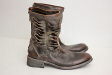 John Varvatos Collection 'Simmons Pavement Twisted' Zip Boots - 8.5 $1600