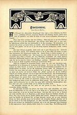 Oscar Geller pantomime severin u. spontelli comme pierrot histor. memorabilie 1909