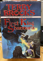 Terry Brooks First King of Shannara Hard Cover DJ First Ed First Printing 1996