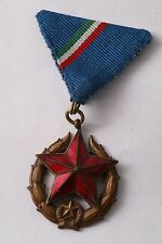 Hungary Hungarian Police Public Security Medal Interior Class 3 Bronze Service