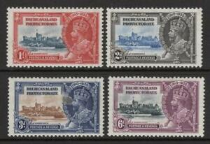 BECHUANALAND  1935  SET of 4 S.J.   M. Mint + Gum  Excellent Quality and Looking