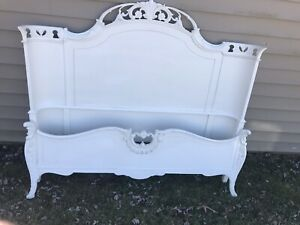 Antique French Provincial Bed