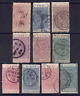 NEW ZEALAND - SELECTION OF NEW ZEALAND RAILWAYS NEWSPAPER STAMPS