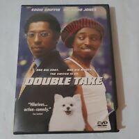 Double Take (DVD, 2001) Eddie Griffin Orlando Jones Comedy 🚚💨