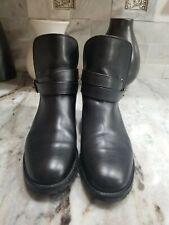 Manolo Blahnik Sulgamba Leather Ankle Boots