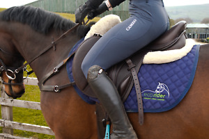 Cameo Thermal Ladies Riding Tights. Performance riding wear, full silicone seat.